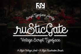 Rustic Gate Vintage Font TTF Download