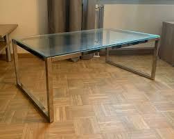 ikea glastisch couchtisch wohnzimmer tisch glas wohnung