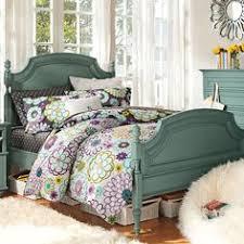 pottery barn teen bedding set twin xl dorm pb teen euc natalia