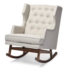 Amazon.com: Baxton Studio Iona Mid-Century Retro Modern Fabric ... Whosale Rocking Chair Living Room Fniture Yashiya Midcentury Retro Modern Grey Fabric Upholstered Cheap Find Nursery Ideas Home Decor Whole Rocking Chairs Living Room Fniture Light Beige Upholstered Design Wooden Chair With Thick Seat And Back Cushions Chairs Thrghout Baxton Studio Maggie Midcentury Agatha Amazoncom Balen Mid Century Iona Amusing Round With Comfy Seat Look As