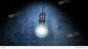flickering light bulb stock animation 2336117