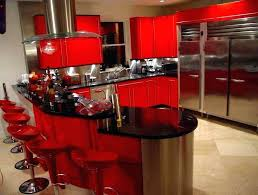 Red Kitchen Accessories Themed Ideas Decor And Black