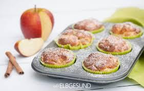 apfel muffins für die schlanke linie elbgesund