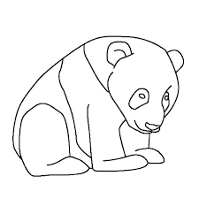 Free Baby Panda Coloring Pages Little Colouring Page Happy Giant