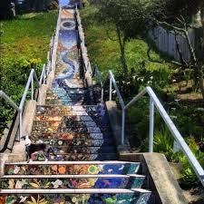16th Ave Tiled Steps Project by Moraga Steps San Francisco California Mosaic Steps On 16th And