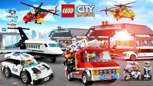 Cartoon About LEGO. NEW LEGO Police. Fire Truck | LEGO Game My City ...