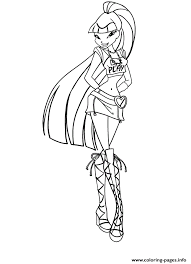 Winx Fairy Of Magic Musa Coloring Pages Print Download 263 Prints