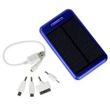 mAh Solar Charger Battery Power Bank For iPhone Smartphone