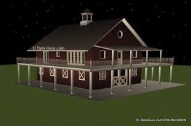 barns with living quarters any style any size from opulent to