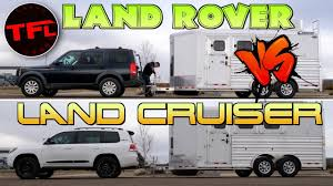 100 Transwest Truck Trailer Rv Which V8 Tows Better Land Rover LR3 Overland Rig Or A