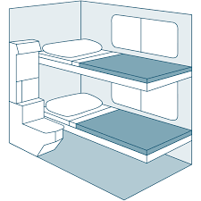 Superliner Bedroom Suite by Viewliner Roomette Amtrak