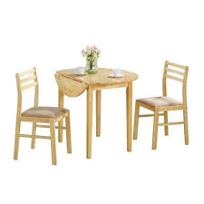 Amazon.com - EFD Two Person Dining Set Small Wood Kitchen 3 ... Melltorp Teodores Table And 2 Chairs White Bright Orange Hgg Ding Set With Chairs Rubberwood Fniture Small Kitchen Extending And Dimeions Room Spaces For Tables Lpd Monroe High Gloss In Black Wine Barrel Bistro Two Stunning White Argos Ikea Ps 2012 Bamboo Saddle Brown 3piece Microfiber Latt Kids Chair X New Flat Interior Decorative Wall Effect Small Table Two Table2 Outdoor Askholmen Grey Greybrown Stained Brown