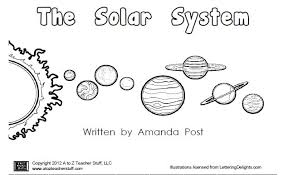 Solar System Clipart Black And White ClipartXtras