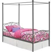 Nickel Bed Tent by Canopy Bed Frames