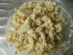 salade de pâtes au thon oeufs quand mimine cuisine