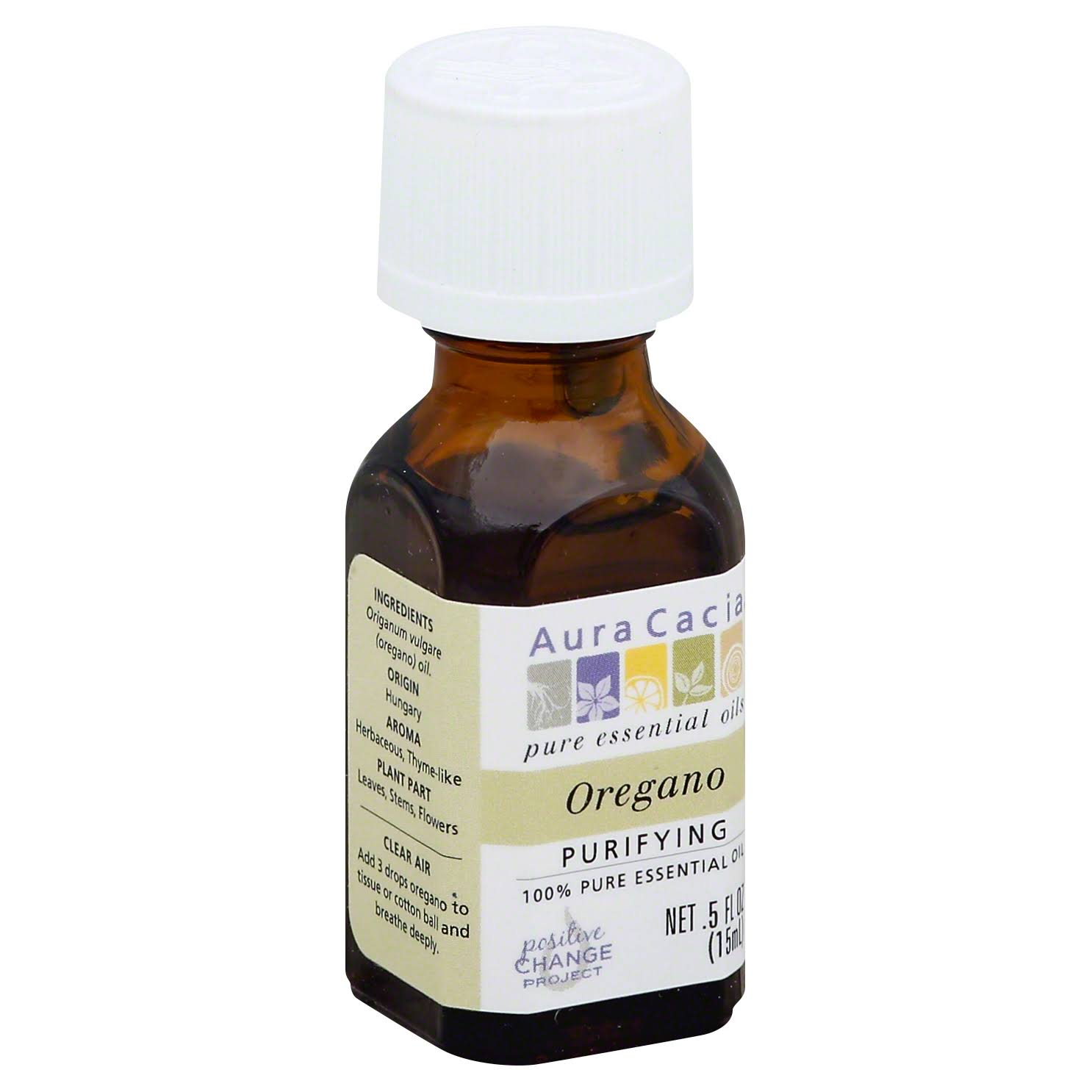 Aura Cacia Oregano Purifying Pure Essential Oil - .5oz