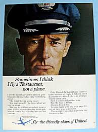 1966 United Airlines W A Pilot Image1