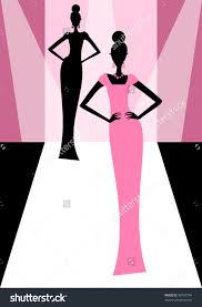 Runway Fashion Show Clipart