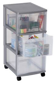 Plastic Drawers On Wheels by Sundis Drawer Storage Tower Container On Wheels 415608f096 With 3
