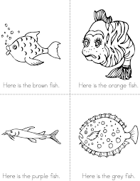 The Fish Color Book Twisty Noodle