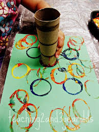 Teaching 2 and 3 Year Olds A simple art activity for the beginning