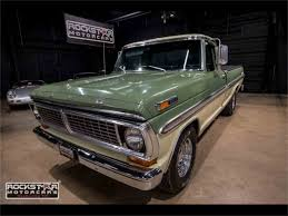 1970 Ford F100 For Sale   ClassicCars.com   CC-1042586 1970 Ford F250 Napco 4x4 F100 Sport Custom Long Bed Truck Hepcats Haven Bf Exclusive Short Bed Questions Will A Ford 390 Fit 1968 F250 Pickup Truck Review Youtube Hobbydb Rollections Of Family Classic Classics Groovecar For Sale Jdncongres Ford Incredible Time Warp Cdition 2016fordf150limitedgrille The Fast Lane Explorer 358 Original Miles Fordificationcom