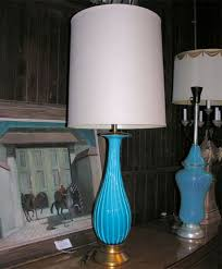 Crystal Table Lamp Finials by Eye Catching Turquoise Table Lamp