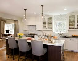 Rustic Kitchen Kitchen Amazing Linear Island Lighting Farmhouse
