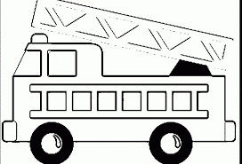 Fire Truck Coloring Pages To Print - Eskayalitim