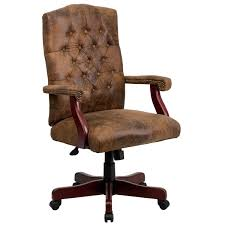 Bomber Brown Classic Executive fice Chair Free Shipping Today