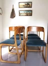 chaises traineau baumann meubles vintage pataluna chinés dénichés