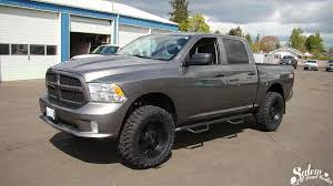 On This 2013 Ram 1500, We Installed A BDS Suspension 4