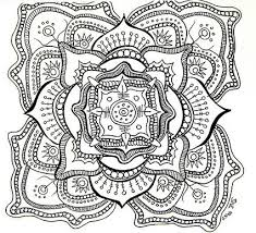 Trends Book Free Printable Mandalas Coloring Pages Adults For Mandala With
