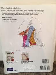 The Anatomy Coloring Book 4th Edition By M Elson And Kapit
