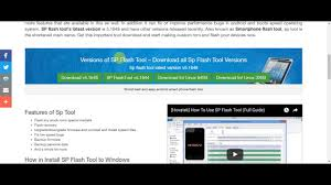 How to Download Sp Flash Tool