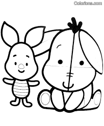 Lovely Disney Cuties Coloring Pages 46 On For Adults With