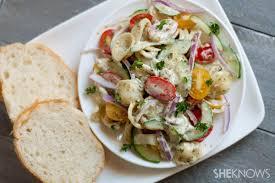 Pin Easy Pesto Pasta Salad Recipe
