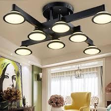 retro design deckenle led deckenleuchte industriele innen decor decke beleuchtung vintage metall deckenstrahler kronleuchter schlafzimmer