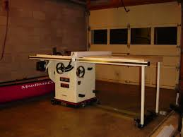Cabinet Table Saw Mobile Base by Can I Ask Your Opinion On Xacta Saw Archive Sawmill Creek