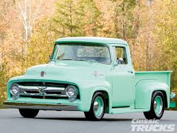 1104clt-01-o-1956-ford-f100-front - Hot Rod Network 1956 Ford Pickup Truck F100 Kustom Sweet Driver Ready To Go Drive Parts 50l V8 Dohc Engine Truckin Magazine Lost Wages Steve Stiwell Total Cost Involved Pick Up Custom Street Rod For Sale Youtube Walldevil That Looks Like A Rundown Old But Isn Gene Simmons Snakebit Sema Live Gallery Cabover Car Hauler Beautiful Hot Steemit Network