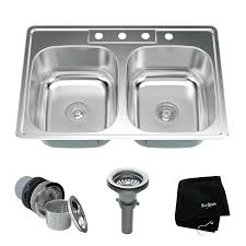 33 x 22 copper kitchen sinks stainless steel basin drop in