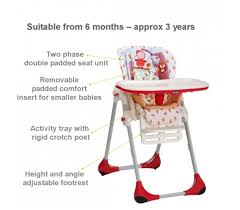 Chicco High Chair Polly by Polly 2 In 1 Highchair