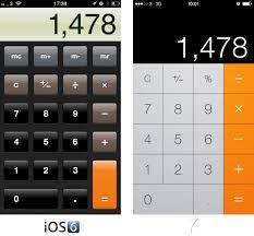 iOS 7 Apps parisons