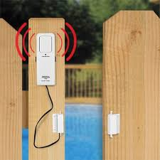Pool Gate Alarm good for babygate too know if someones opening