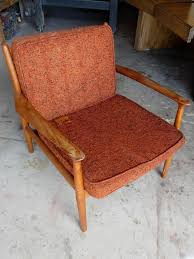 Original Mid Century Mod Chair Before S3x4