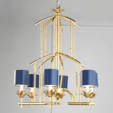 Bamboo Tower Chandelier 6 Light From Classic To Hip Pop