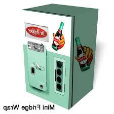 Coin Operated Tea Coffee Vending Machine Amazing Dr Pepper Vintage Mini Fridge Wrap Bridgeland