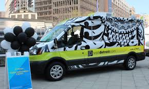 detroit metro convention visitors bureau the d rover is like a food truck that serves up detroit s