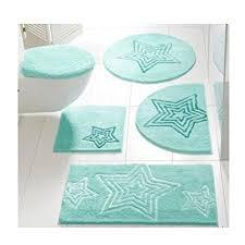 badteppich mit sternen motiv mint größe 6 90 x 160 cm