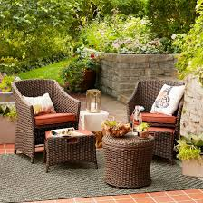 Threshold Patio Furniture Replacement Cushions by Belvedere 5 Piece Chat Set Threshold Target